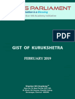 Gist of Kurukshetra April 2019 Www.iasparliament.com