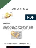 Lesiones en Nervios