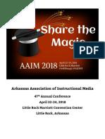 AAIM 2018 Conference Program