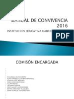 Manual de Convivencia Def. 2015-2016