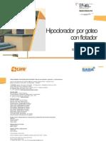 13-11 Hipoclorador Por Goteo Con Flotador