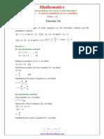 10 Maths NcertSolutions Chapter 3 4