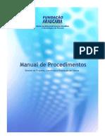 Manual de procedimentos atualizados