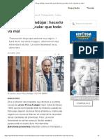 Javier Pérez Andújar_ Hacerlo Bien Para Disimular Que Todo Va Mal - Apuntes de Clase