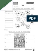 Big surprise 3 worksheets