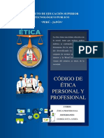 Ética Personal y Profesional