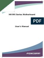 Foxconn H61MX Manual