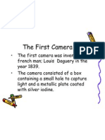 The First Camera