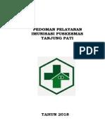 Pedoman Penyelenggaraan Pelayanan Imunisasi Puskesmas Tanjungsari Surabaya