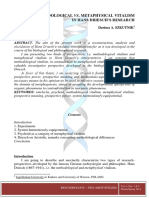 Biocosmology – Neo-Aristotelism Volume 4 Issue 1,2 2014 [Doi 10.0000_cyberleninka.ru_article_n_methodological-Vs-metaphysical-Vitalism-In-hans-driesch-s-research] Dariusz a. SZKUTNIK -- Method