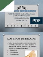 DROGAS DEPRESORAS