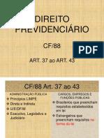 CF88 ART.37-43
