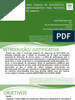 MAPEAMENTO DA REDE PÚBLICA DE DIAGNÓSTICO, TRATAMENTO