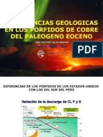 Experiencias Geologicas Congreso UNSA JASM SEt. 2009
