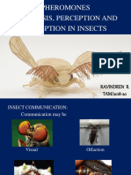 Pheromones Synthesis Perception and Reception in Insects