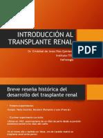 Introducción Al Transplante Renal