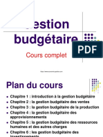 Cours Gestion Budgetaire
