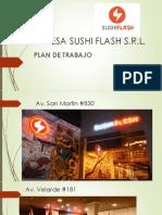 Empresa Sushi Flash s