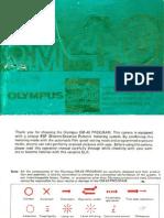 Olympus OM 40 instruction manual