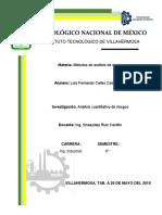 Reporte de Investigacion. Análisis de Riesgo Cuantitativos