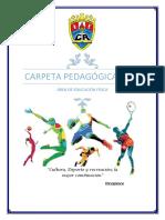 Carpeta Pedagógica de Educación Física 2018