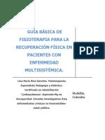 Guia Basica de Fisioterapia Para La Recuperacion Fisica en Pacientes Con Enfermedad MultisistemicA