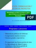 Presentacion Matriz de Marco Logico