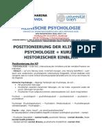 VO ZF Klinische Psychologie