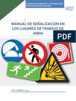 01 Manual de Señalización en Los Lugares de Trabajo de ANDA