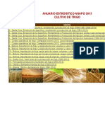 Trigo-Anuario Estadistico 2013