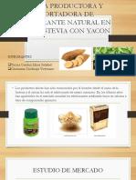 Diapositivas de Stevia Con Yacon