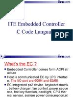 ITE EC C Code Language