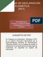PDT 20192019