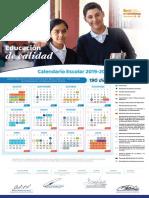 Calendario Escolar 190 días Guanajuato