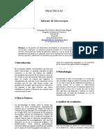 Informe de Microscopia Miguel y Yerlys