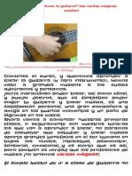 ¿Quieres tocar la guitarra? ¡las varitas mágicas existen! | Guitarra PROGRAMA MAGUIT