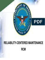 DoD RCM Presentation