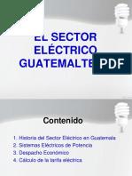 El Sector Eléctrico en Gt CLASE 5
