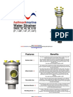Strainer Information Sheet