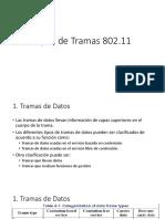 Tipos de Tramas 802