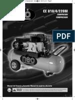 CE 810-4-220M NEO Manual