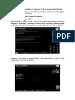 02 Procedimiento de Instalacion de Windows Servidor Servidor ML110