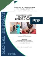 Manual de Practicas de Clinica de Perros y Gatos