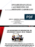 Responsabilidad Legal en Los Accidentes de Trabajo