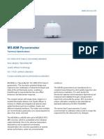 MS 80M Pyranometer