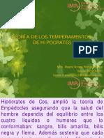 Teoria de Los Temperamentos Hipocraticos Maestria en Tanatologia g34