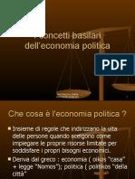 Concetti Basilari Della Economia Politica