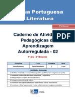 Lingua Portuguesa Regular Professor Autoregulada 7a 2b