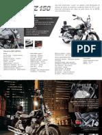 Guia tecnica manual de suzuki GZ 150 2015