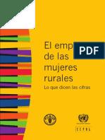 Empleo Mujeres Rurales